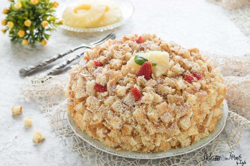 competitive price 51667 21044 Torta mimosa ricetta facile, dolce con crema pasticcera e ananas