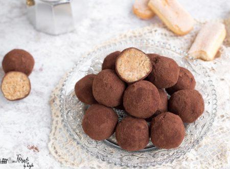 Palline di tiramisu o Tartufi al tiramisu: il dolce tiramisù in un boccone !