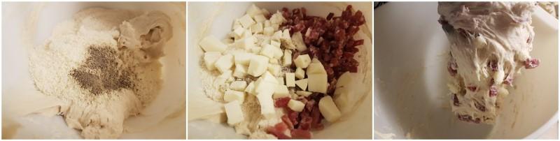 Casatiello napoletano ricetta originale e tradizionale, ricetta casatiello salato Dulcisss in forno by Leyla