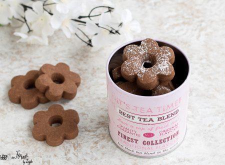 Biscotti canestrelli al cioccolato golosi e friabili