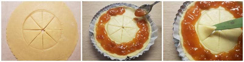 Crostata Sole della Prova del Cuoco di Natalia Cattelani, crostata morbida alla marmellata ricetta Dulcisss in forno by Leyla