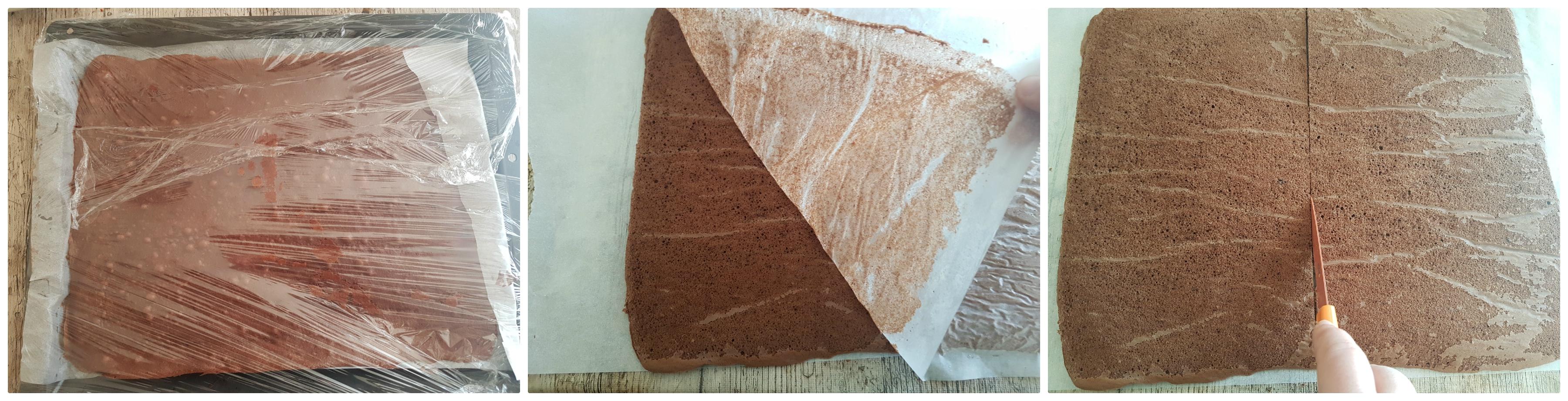 Fetta al cacao e latte - Kinder fetta al latte - merendine fatte in casa con crema al latte ricetta Dulcisss in forno by Leyla