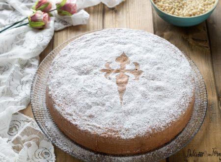 Torta di Santiago, torta spagnola con farina di mandorle