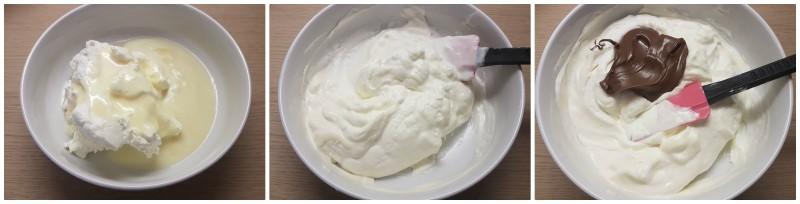 Gelato alla nutella senza gelatiera e senza uova – Gelato furbo alla nutella