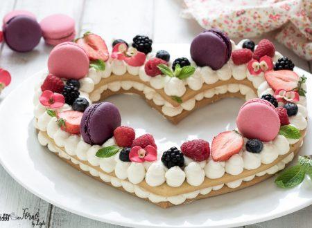 Cream tart a cuore facile passo passo