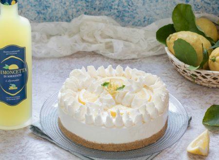 Cheesecake al limoncello senza cottura