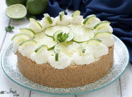 Key lime cheesecake ricetta senza cottura e senza uova