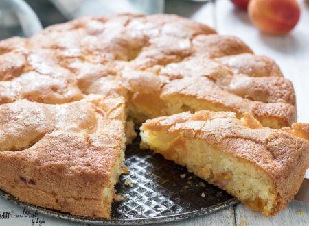Torta di albicocche fresche senza burro