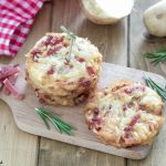 Rosti di patate e speck - Rosti di patate e cipolle - Patate rosti con patate grattugiate crude