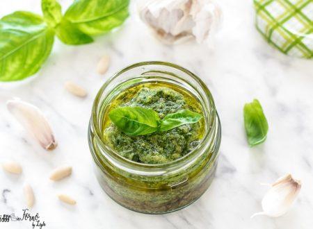 Pesto genovese ricetta originale e tradizionale
