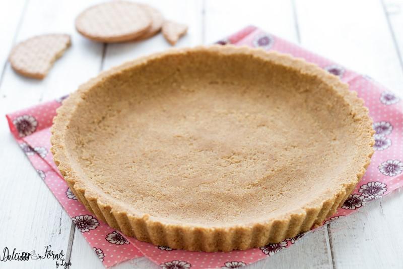 Base croccante per torta fredda o cheesecake senza cottura – Base per cheesecake – Base per crostate senza cottura