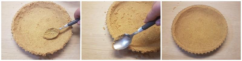 Base pronta - Torta cheesecake fredda