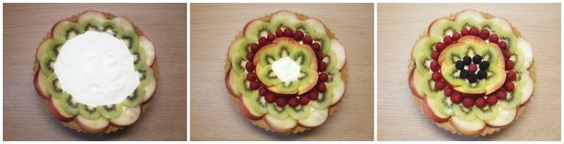 Decorare con la frutta - Torta fredda alla frutta