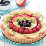 Torta fredda alla frutta ricetta - Crostata senza cottura
