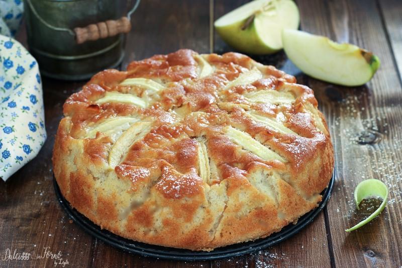 Torta di mele soffice - ricetta torta di mele senza burro