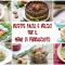 Idee per ferragosto: ricette facili e veloci per il pranzo di ferragosto