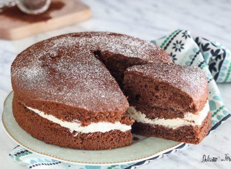 Torta al cioccolato panna e nutella