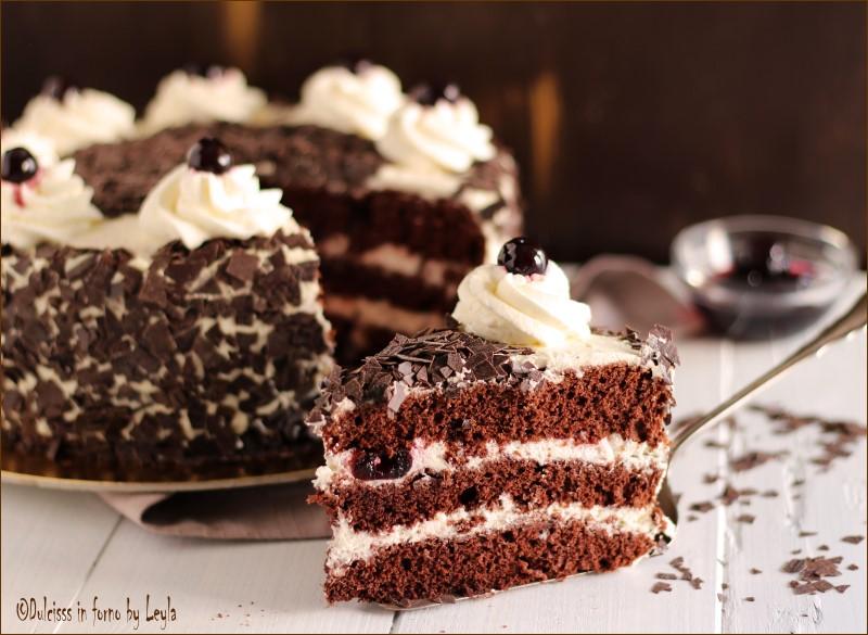 Torta Foresta nera ricetta originale