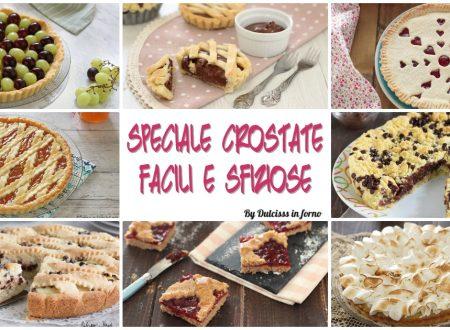 Crostate semplici e veloci: torte e dolci con la pasta frolla