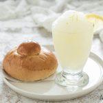 Granita al limone siciliana fatta in casa con o senza gelatiera