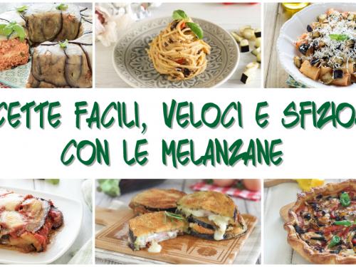 Ricette con melanzane: 12 ricette veloci e semplici