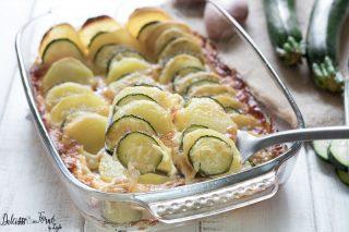 Sformato di zucchine e patate al forno