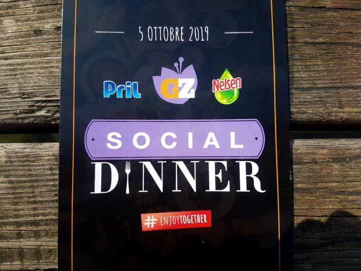 Social dinner GialloZafferano Pril Nelsen
