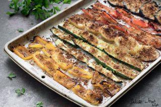 Verdure miste al forno gratinate