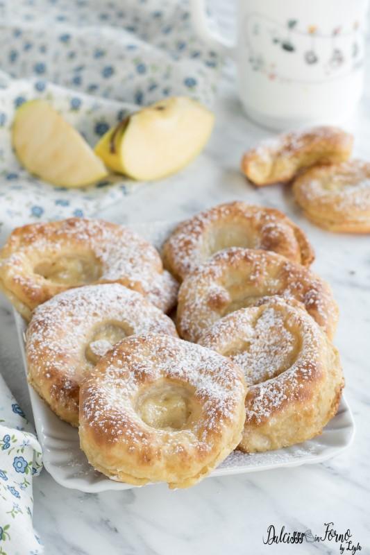 Frittelle di mele al forno con pastella, ricetta light e leggera
