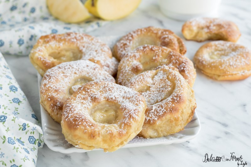 Frittelle di Mele al Forno con Pastella, Ricetta Leggera