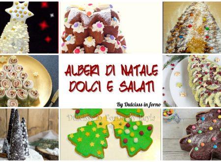 Alberi di Natale da mangiare dolci e salati