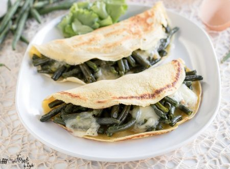Crepes salate light ripiene di verdure