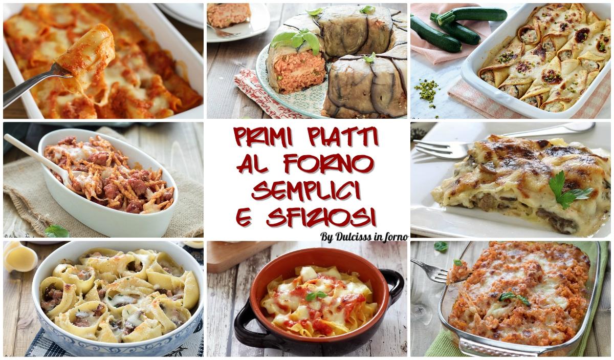 Pasta al forno veloce e gustosa ricette semplici primi for Primi piatti semplici