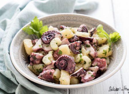 Insalata di polpo e patate lesse