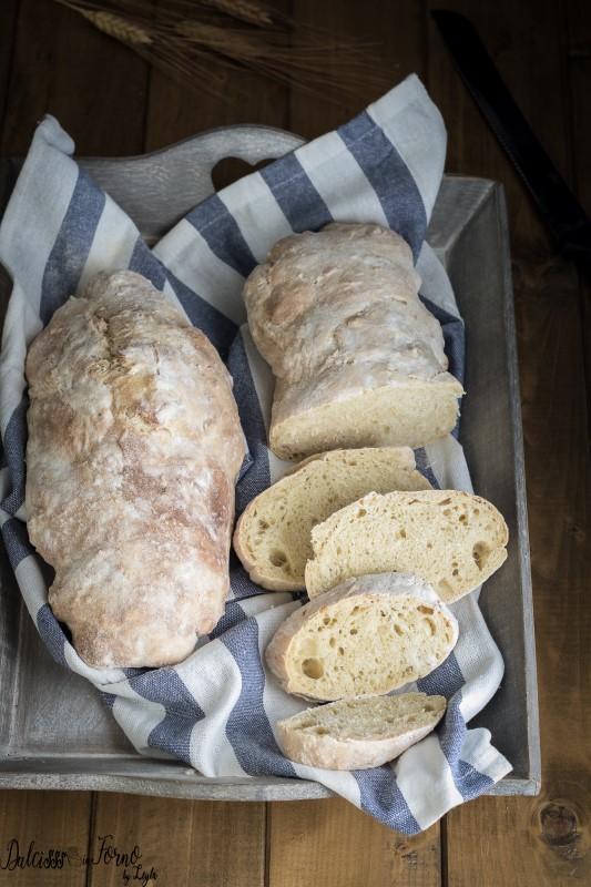 Pane veloce fatto in casa, ricetta pane senza impasto