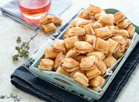 Salatini di pasta sfoglia veloci per aperitivo (100 pezzi in 30 minuti)