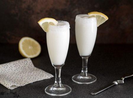Sorbetto al limone cremoso in 5 minuti
