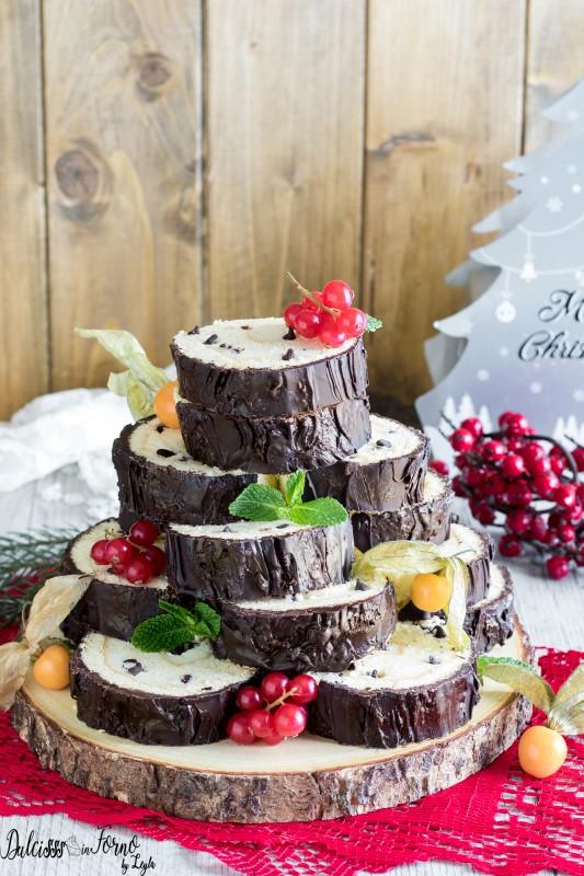 Tronco di Natale, ricetta rotolo dolce di Natale e Capodanno