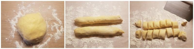 Impasto delle Castagnole al forno