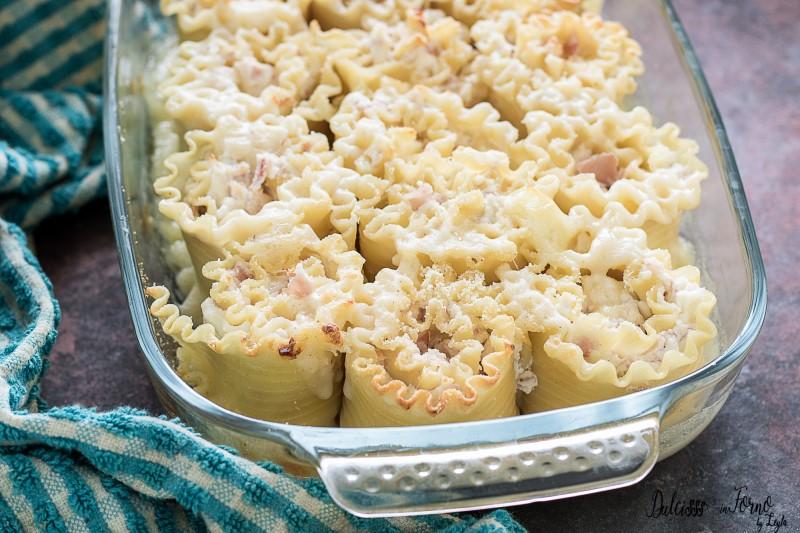Rose di pasta al forno con ricotta le roselline di lasagne ricce