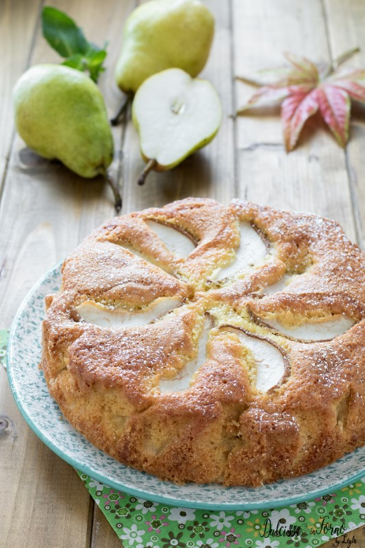 Torta morbida di pere, ricetta senza burro