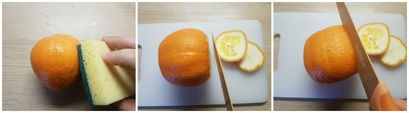 Scorze d'arancia candite: le arance