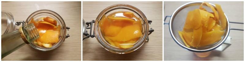 Liquore all'arancia: la macerazione