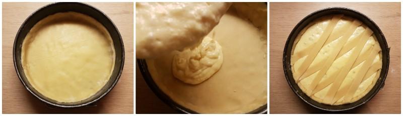 Pastiera napoletana originale: fase finale