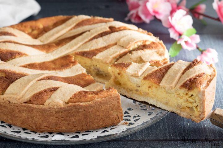Pastiera napoletana originale: la fetta