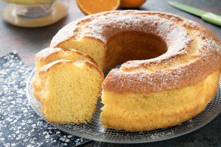 Ciambella all'arancia o Ciambellone all'arancia - ricetta semplice
