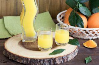 Liquore all'arancia fatto in casa ricetta originale