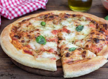 Impasto pizza fatta in casa facilissima, senza impastare