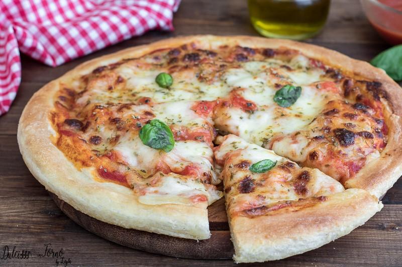 Ricetta X Una Buona Pizza.Impasto Pizza Fatta In Casa Senza Impastare Facilissima Dulcisss In Forno