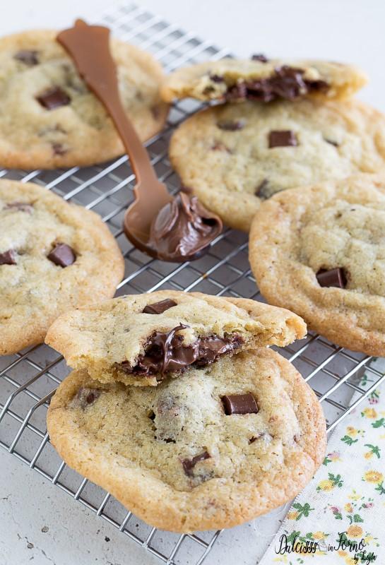 Nutella Cookies ricetta cookies alla Nutella